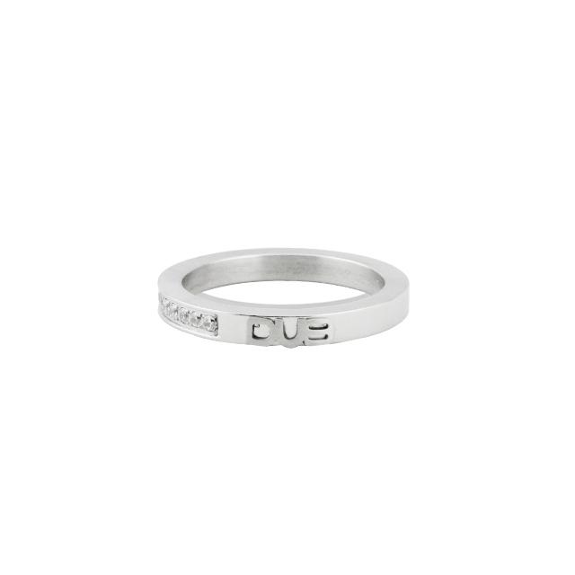 【予約受付中】【DUB Collection│ダブコレクション】  DUBjss-55wh Stainless Ring ステンレスリング 工藤大輝くん着用