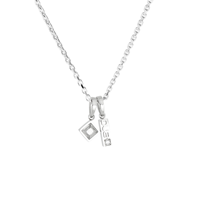 即日発送アイテム【DUB Collection│ダブコレクション】  DUBjss-61WH Stainless Necklace ステンレスネックレス
