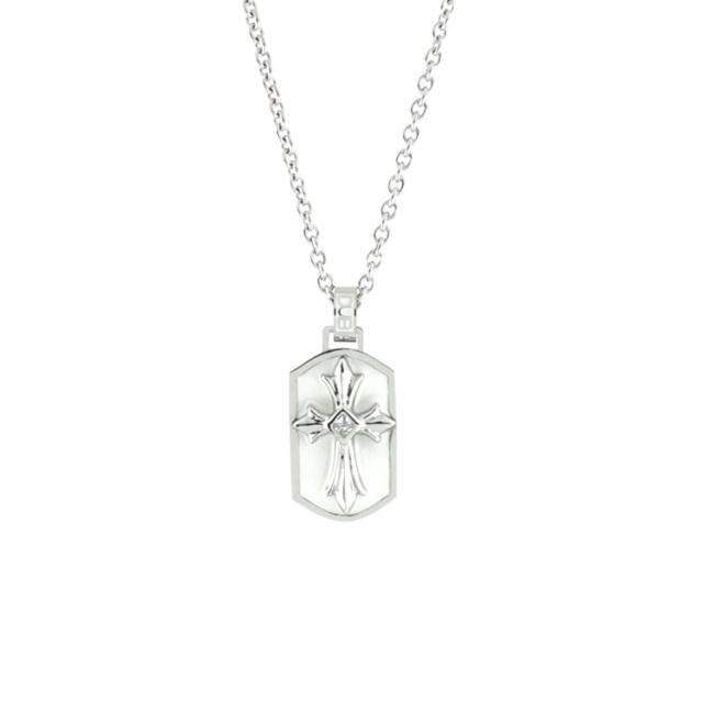 即日発送アイテム【DUB Collection│ダブコレクション】  DUBjss-42WH Stainless Necklace ステンレスネックレス