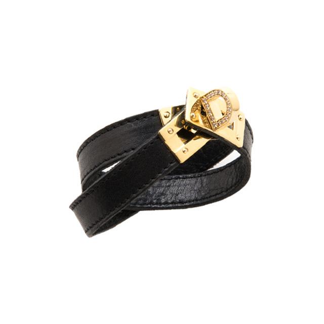 【DUB Collection】KAREN model D Leather Bracelet ディーレザーブレスレット DUB-C062-1【KARENコラボ】【男女兼用】