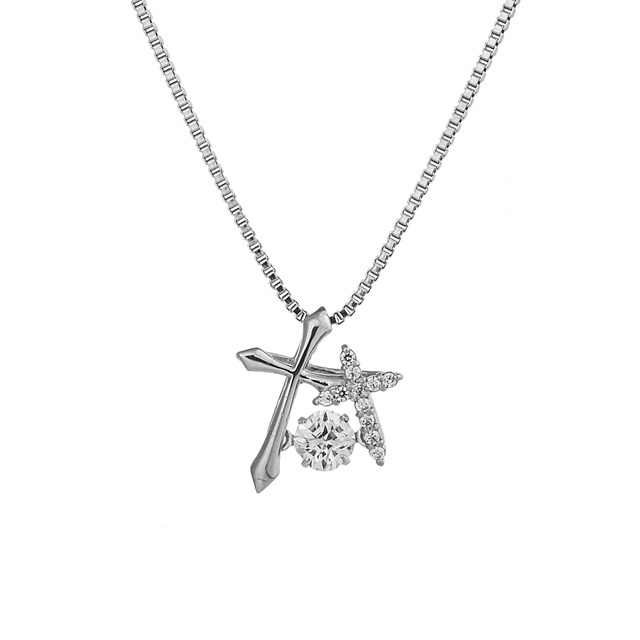 【Crossfor NewYork】Double Cross Pendant(NYP-595)