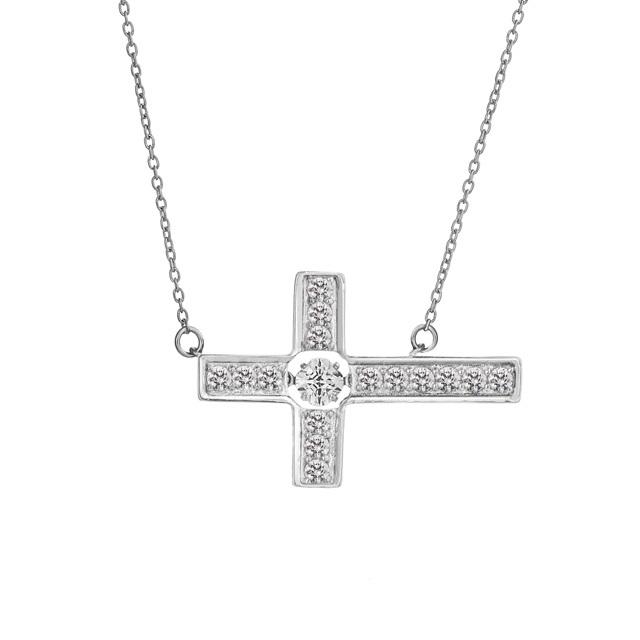 【Crossfor NewYork】Cross Flower Pendant(NYP-609)