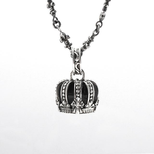 受注生産(オーダー)【DUB Luxury|ラグジュアリーダブ】インペリアルクラウン Imperial Crown Pendant Top 【OD-2301(BK)】