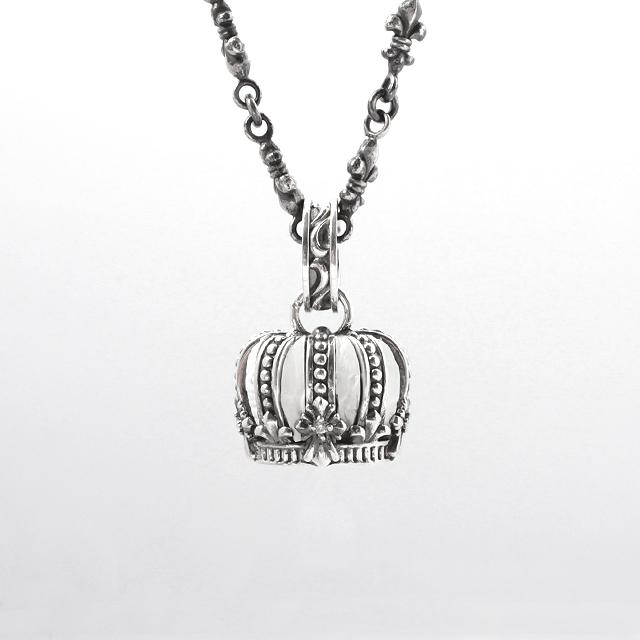 受注生産(オーダー)【DUB Luxury|ダブラグジュアリー】 Imperial Crown Pendant Top インペリアルクラウンペンダントトップ|OD-2303(WH)【ユニセックス】