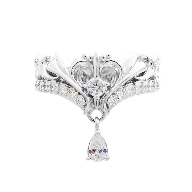 受注生産(オーダー)【DUB Collection│ダブコレクション】桜井莉菜 model Heart Tiara Ring ハートティアラリング DUB-C021-1【さくりなコラボ】
