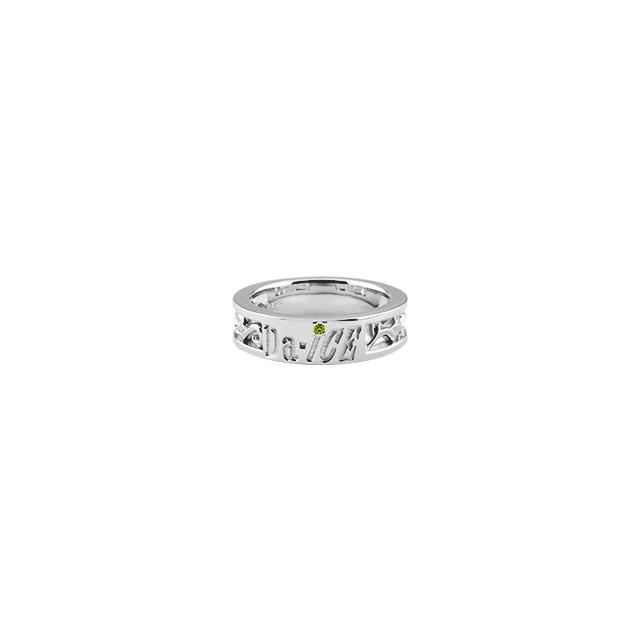 【DUB Collection│ダブコレクション】 Da-iCE model Initial Ivy Ring イニシャルアイビーリング DUB-C056-4【Da-iCEコラボ】【花村想太model】【レディース】