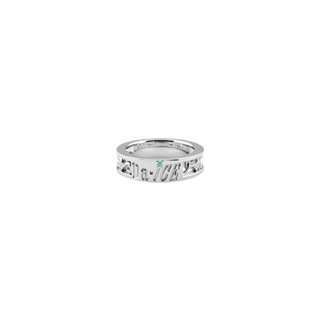 【DUB Collection│ダブコレクション】 Da-iCE model Initial Ivy Ring イニシャルアイビーリング DUB-C056-2【Da-iCEコラボ】【岩岡徹model】【レディース】