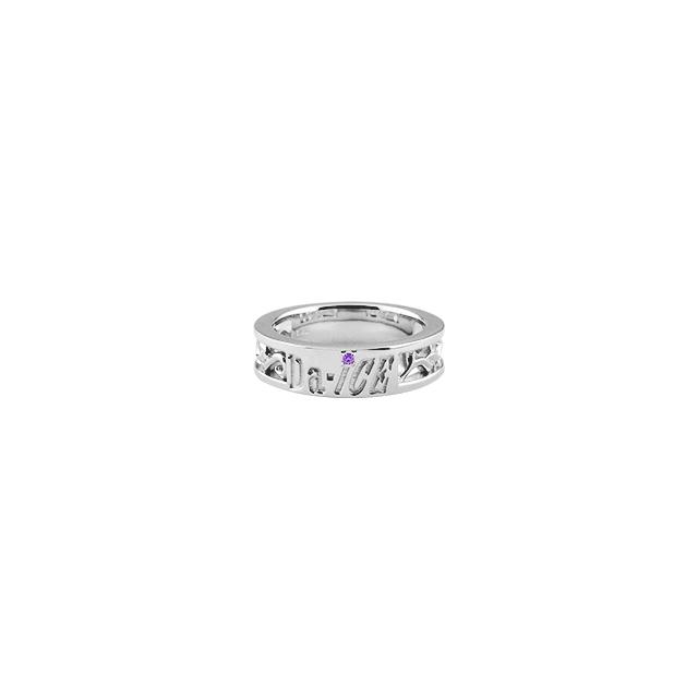【DUB Collection│ダブコレクション】 Da-iCE model Initial Ivy Ring イニシャルアイビーリング DUB-C056-5【Da-iCEコラボ】【和田颯model】【レディース】