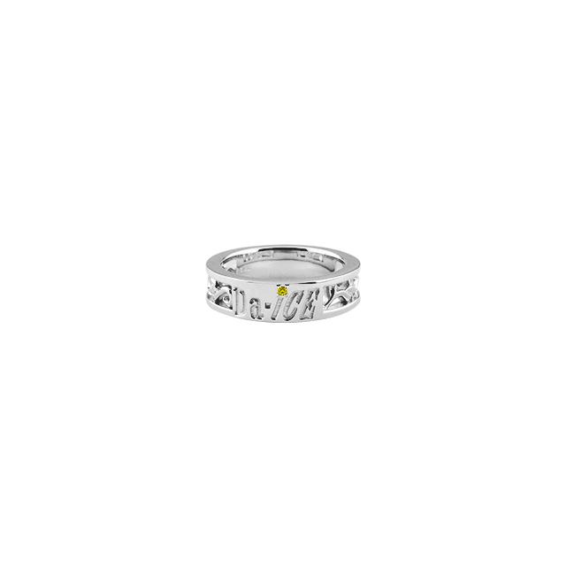【DUB Collection│ダブコレクション】 Da-iCE model Initial Ivy Ring イニシャルアイビーリング DUB-C056-3【Da-iCEコラボ】【工藤大輝model】【レディース】