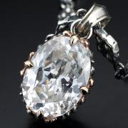 アウトレット【DUB Luxury ラグジュアリーダブ】Grassy plain Necklace(pink gold) ペンダントトップ【OD-1402(PG)】