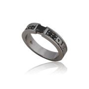 即日発送アイテム【DUB collection|ダブコレクション】Chic Bar ring(men's) DUBj-155-2(BK)【メンズ】