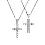 受注生産(オーダー)【DUB collection|ダブコレクション】Studs Cross Necklace スタッズクロスネックレス DUBj-372-1-Pair【ペア】