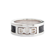 【DUB Collection|ダブコレクション】DUB leather work Ring DUBj-213-1(BK)【ユニセックス】