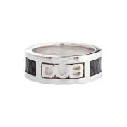 即日発送アイテム【DUB Collection|ダブコレクション】DUB leather work Ring DUBj-213-1(BK)【ユニセックス】