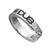 即日発送アイテム【DUB collection|ダブコレクション】 Hidden Heart ring DUBj-187-1(BK)【メンズ】