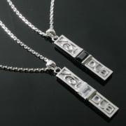 受注生産(オーダー)【DUB collection|ダブコレクション】Ivy Pair Necklace アイビーペアネックレス DUBj-188-Pair【ペア】