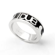 即日発送アイテム【DUB Collection|ダブ コレクション】Affectionate Ring ペアリング DUBj-215-1(BK)【メンズ】
