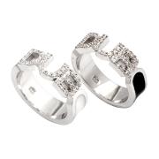 【DUB Collection|ダブ コレクション】Honest Ring オネストリング DUBj-223-1-2(BK&WH)【ペア】