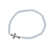 【DUB Collection│ダブコレクション】Stone Cross Bracelet|DUBj-293-2M【ユニセックス】