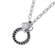 受注生産(オーダー)【DUB Collection│ダブコレクション】Crown ring Necklace クラウンリングネックレス DUBj-296-1【ユニセックス】