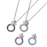 受注生産(オーダー)【DUB Collection│ダブコレクション】Crown ring Pair Necklace クラウンリングペアネックレス DUBj-296-Pair【ペア】