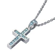 【DUB Collection│ダブコレクション】Rectilinear Cross Necklace レクタリニアクロスネックレス DUBj-297-3【ユニセックス】