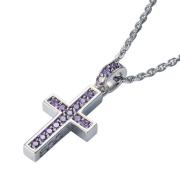 即日発送アイテム【DUB Collection│ダブコレクション】Rectilinear Cross Necklace レクタリニアクロスネックレス DUBj-297-4【ユニセックス】