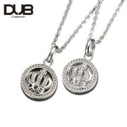 受注生産(オーダー)【DUB Collection│ダブコレクション】Crown Shell Pair Necklace  クラウンシェルペアネックレス DUBj-308-Pair【ペア】