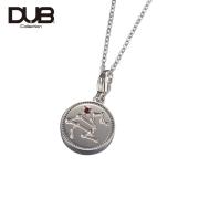 受注生産(オーダー)【DUB Collection│ダブコレクション】Constellation Necklace コンステレーションネックレス DUBj-318-1(SV)【ユニセックス】【12星座/星座石】