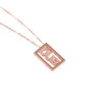 即日発送アイテム【DUB Sweet|ダブスウィート】DUB logo shine Necklace K10 ダブロゴシャインネックレス DUBjp-1【レディース】