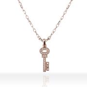 即日発送アイテム【DUB Sweet|ダブスウィート】Key to Happiness Necklace キートゥハピネス DUBjp-30【レディース】