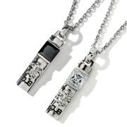 受注生産(オーダー)【DUB Collection|ダブコレクション】Crest of the Lily Pair Necklace クレストオブザリリィーペアネックレス DUBj-229-Pair【ペア】