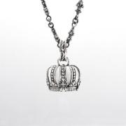 【DUB Luxury|ダブラグジュアリー】 Imperial Crown Pendant Top インペリアルクラウンペンダントトップ|OD-2303(WH)【ユニセックス】