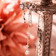 【DUB Collection】桜井莉菜 model Heart Tiara Pierce -Short&long set- ハートティアラピアス -ショート&ロングセット- DUB-C067-1/DUB-C068-1 【さくりなコラボ】