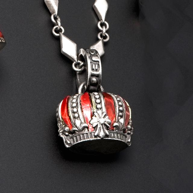 受注生産(オーダー)【DUB Luxury|ラグジュアリーダブ】インペリアルクラウン Imperial Crown Pendant Top 【OD-2302(RD)】