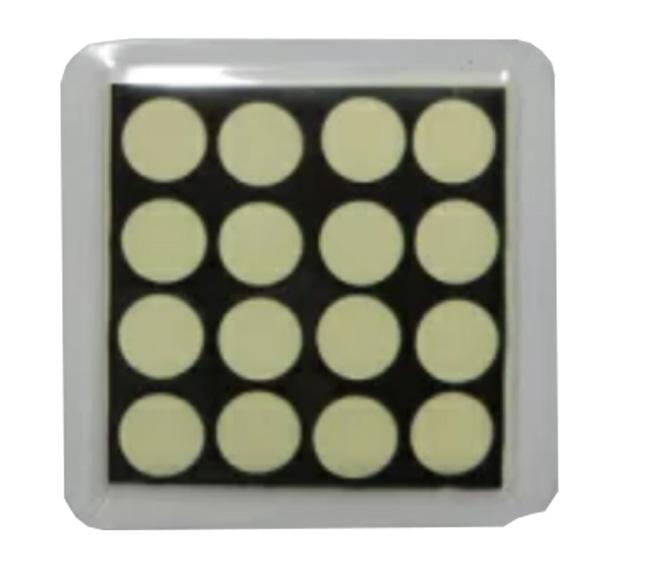「CMC 健康コースター」(単層シート(孔あき) 50×50mm)