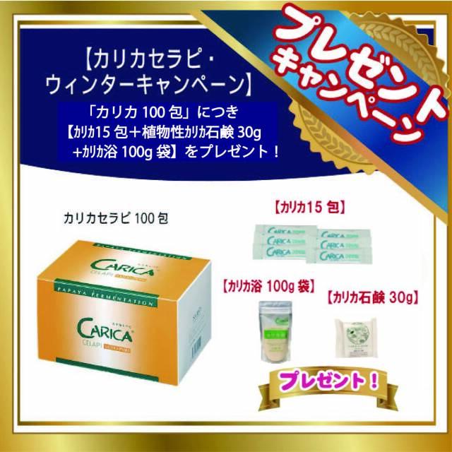カリカセラピ PS501(3g×100包)【カリカ15包+カリカ浴100g袋 + カリカ石鹸30g プレゼント!(なくなり次第、終了!)】