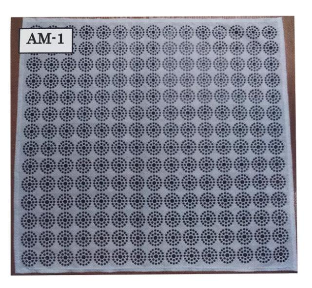 食卓用/「CMC 健康クロス AM-1型」(50×45mm)