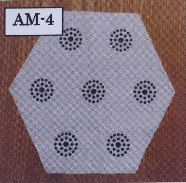 食卓用/「CMC 健康クロス AM-4型」(20×20mm)