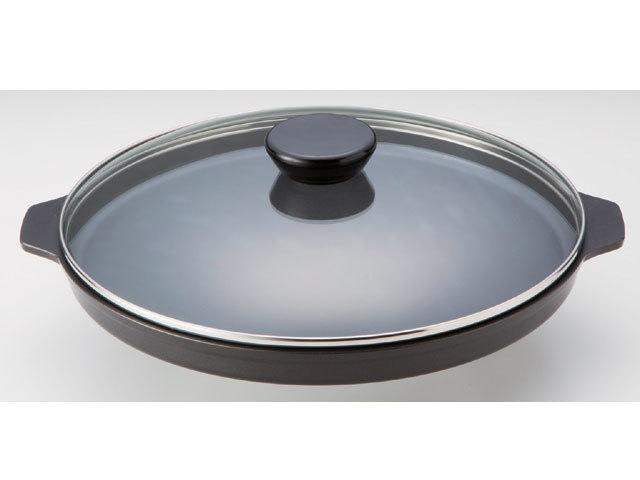 遠赤外線 焼物プレート《スーパーラジエントヒーターに最適!熱効率に優れた専用鍋!》