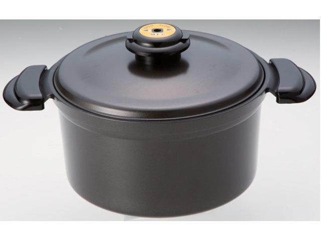 遠赤外線炊飯鍋(炊飯メモリ付)《スーパーラジエントヒーターに最適!熱効率に優れた専用鍋!》