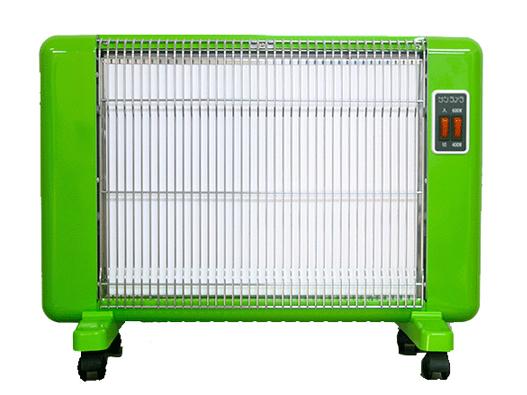 遠赤外線セラミックヒーター「サンラメラ」《Yグリーン》607型