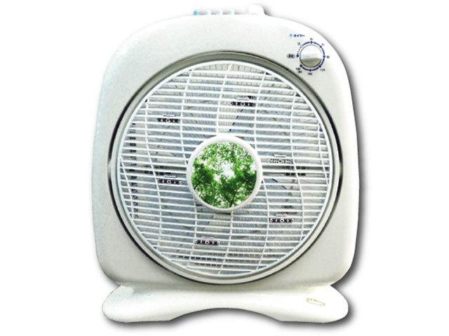 マイナスイオン発生器「 新林の滝 」(オールホワイト)タイマー付き【空気循環器・サーキュレーター・扇風機】