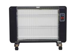 遠赤外線セラミックヒーター「サンラメラ」《ブラック》605型