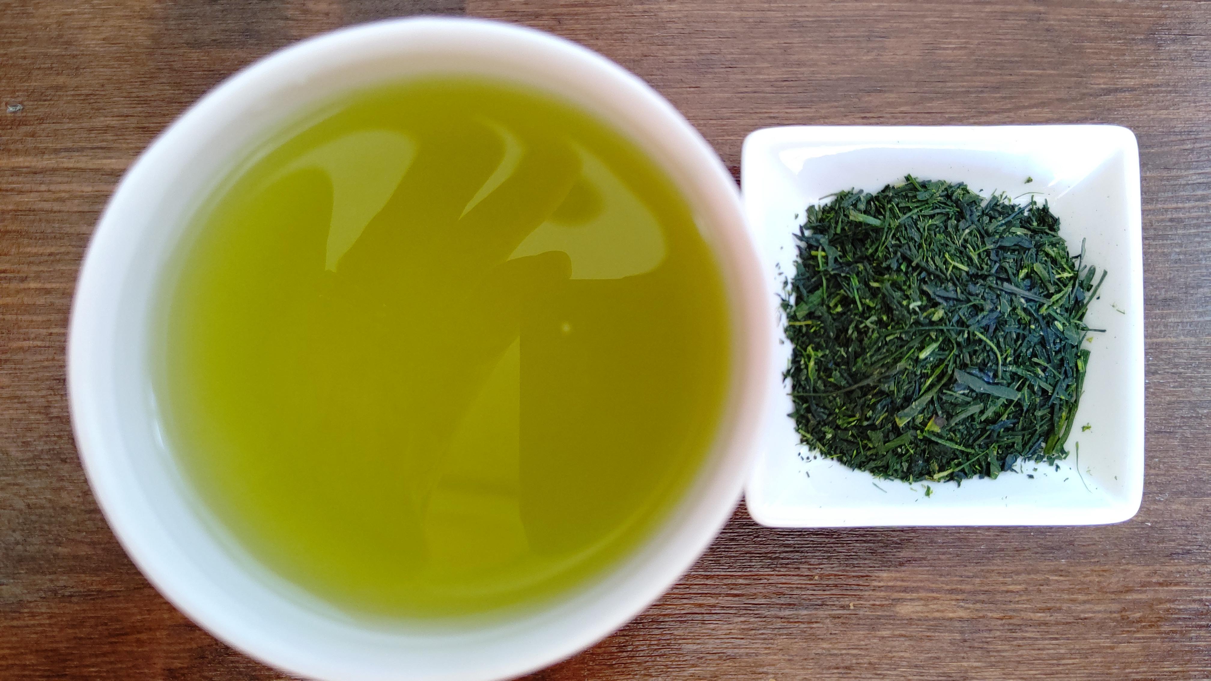 深蒸し茶茶葉