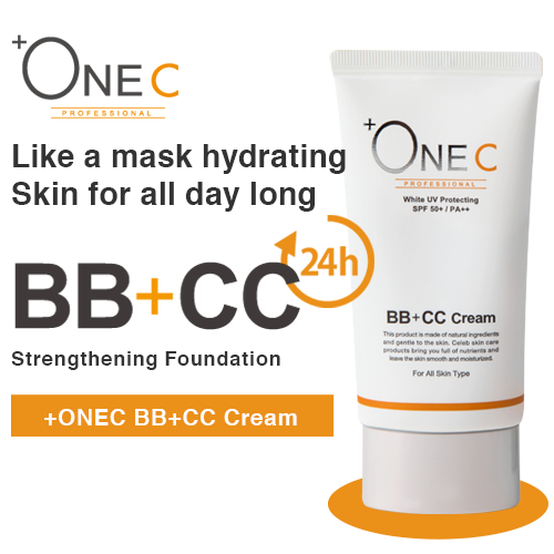 +ONEC BB+CC Cream 40g (英語)
