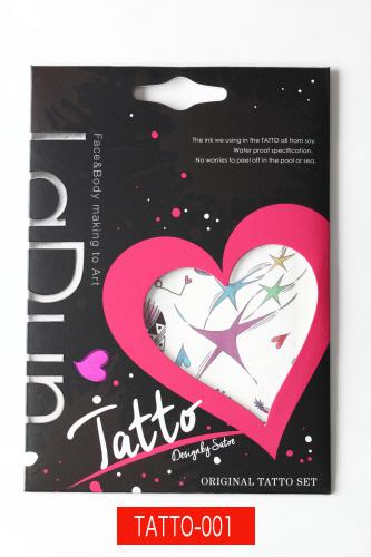 【定形外郵便可】LaDun(ラドュン) TATTO(タトゥー) シート 転写シール イベント パーティー ハロウィン
