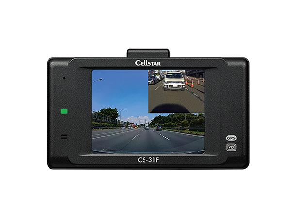 CS-31F ドライブレコーダー [既存のバックカメラを使って前後録画][3年保証][2019年製]