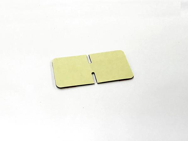 マウントベースD用両面テープ[ガラス用スリット入](ドライブレコーダー専用)