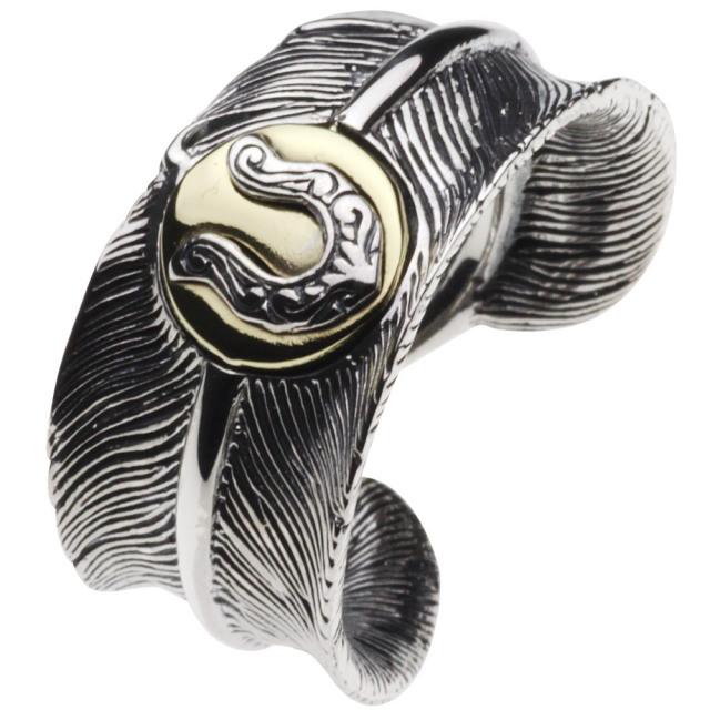 cenote r0350 【シルバーアクセサリー】 馬蹄フェザーリング